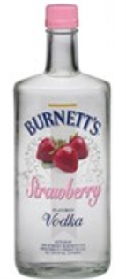 Burnett's Vodka Strawberry 750ml - Case of 12